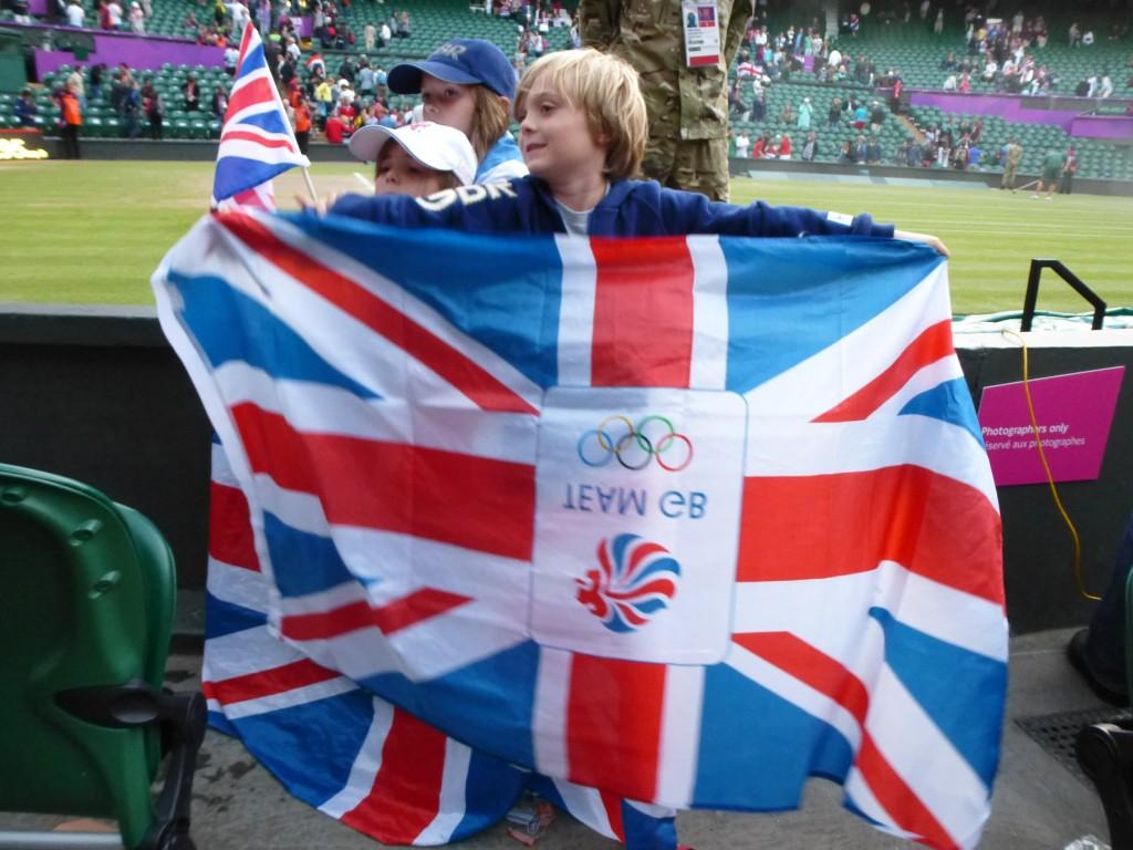 jeunes supporters britanniques