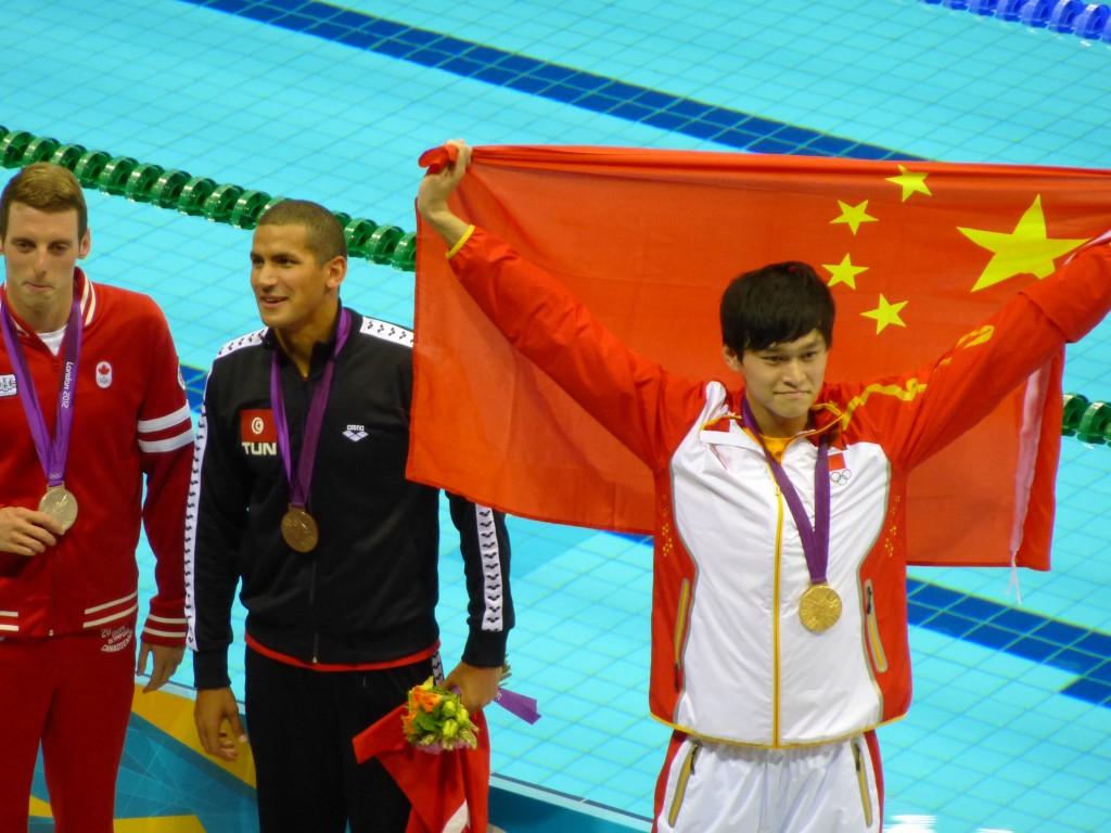 médaillés du 1500 m nage libre