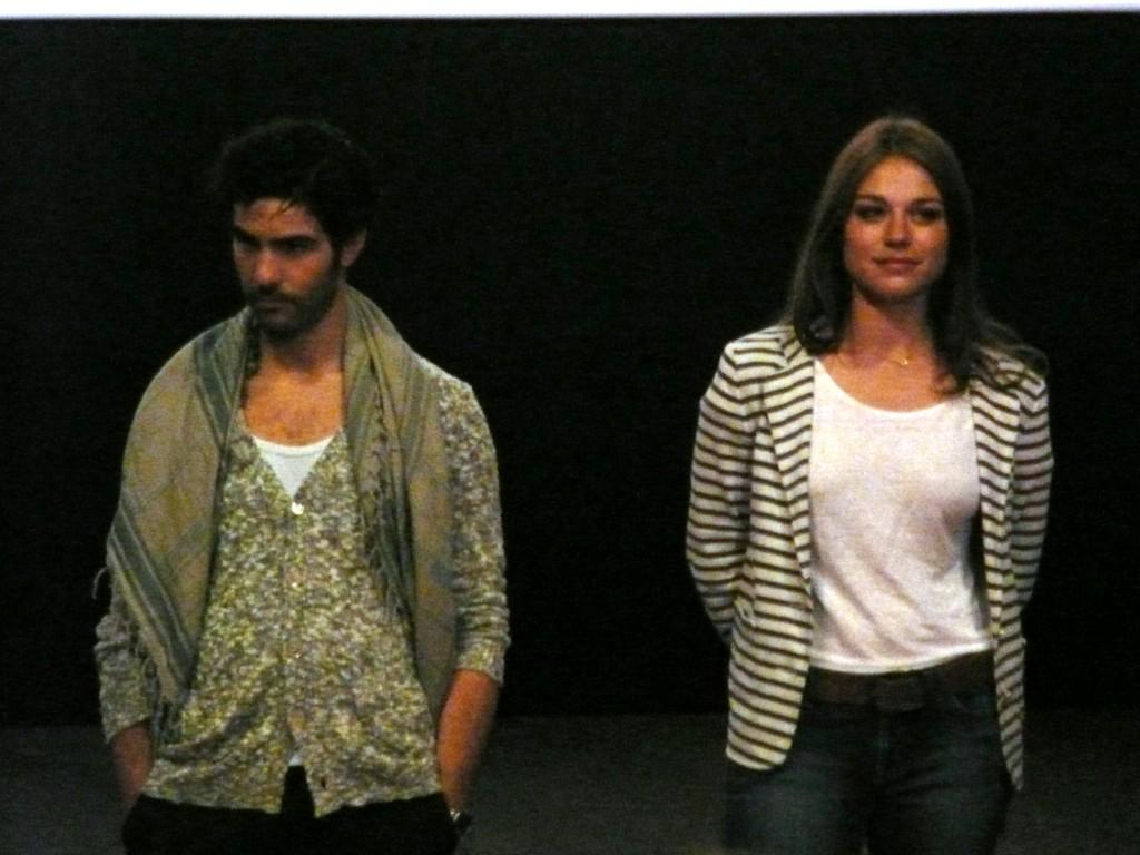 Tahar Rahim et Emilie Dequenne présentant A PERDRE LA RAISON