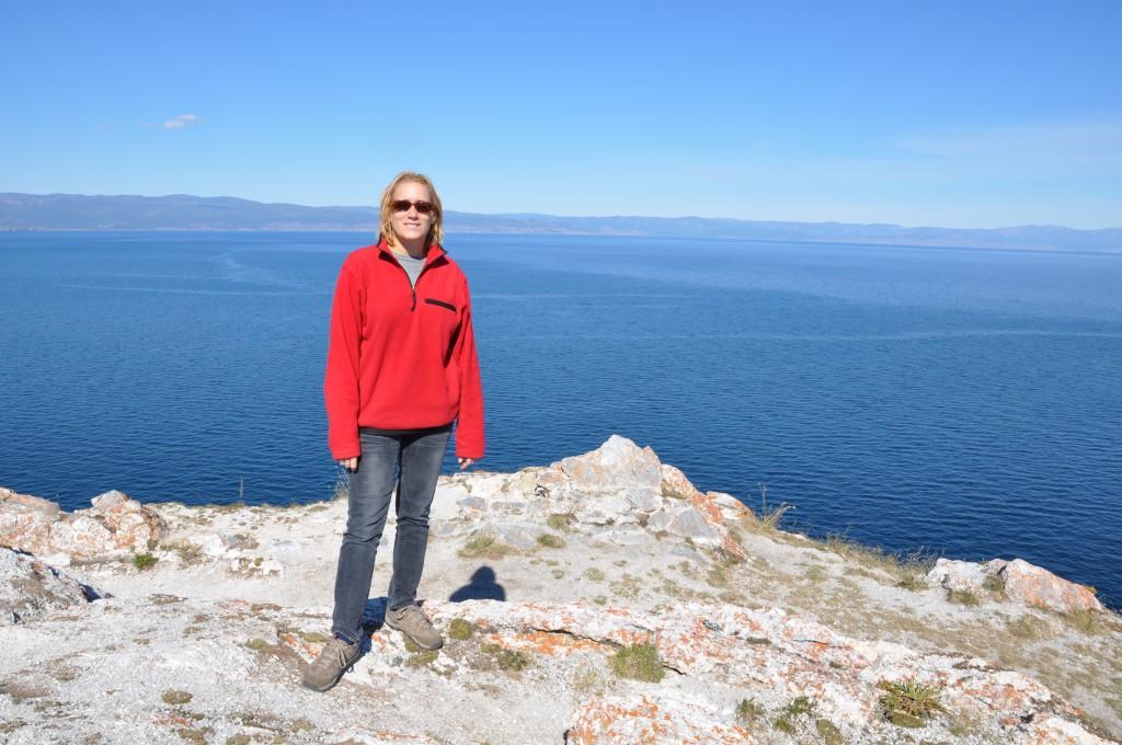Sur l'île d'Olkhone, lac Baikal