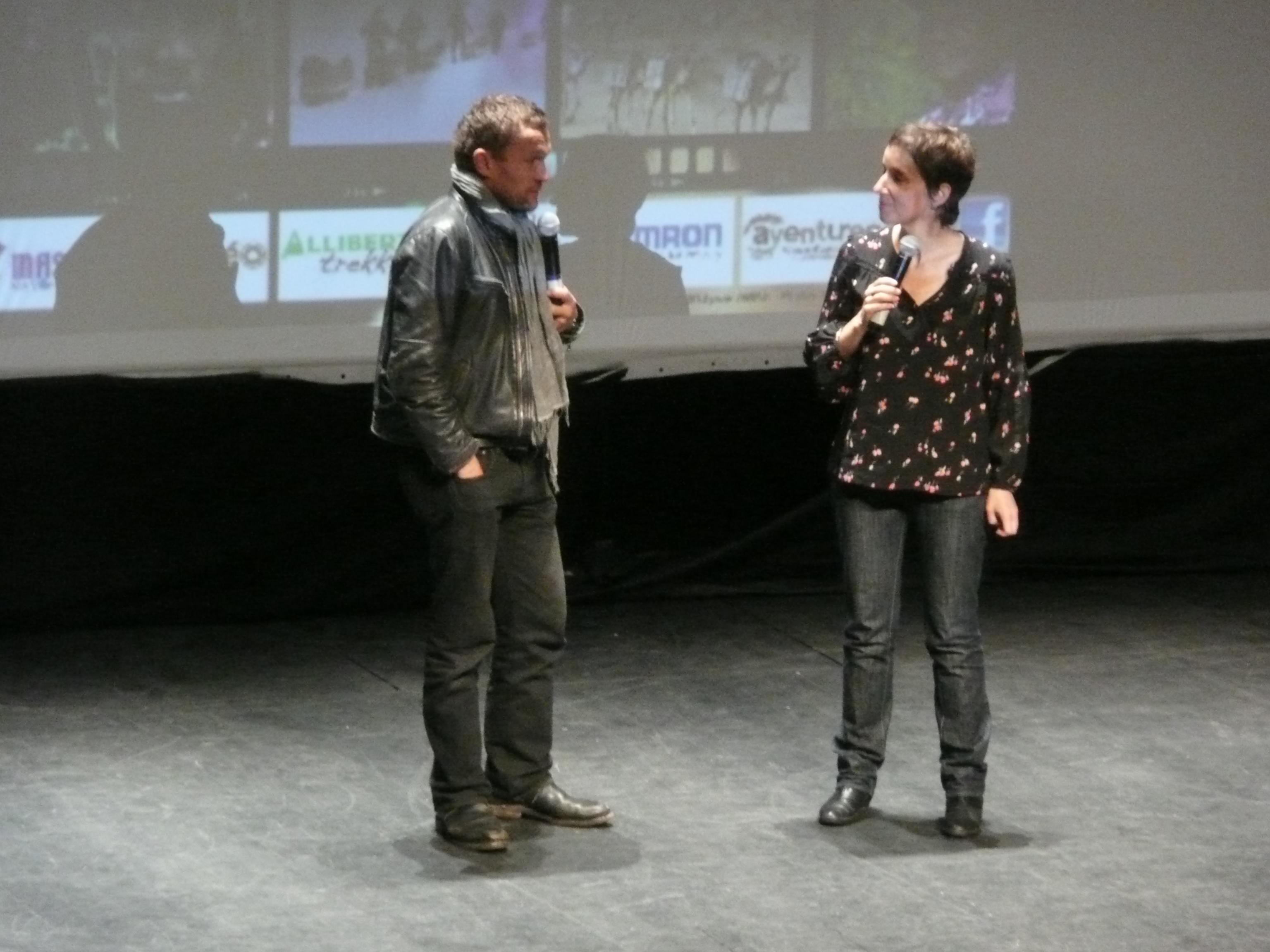 Sylvain Tesson interviewé par Sandrine Mercier