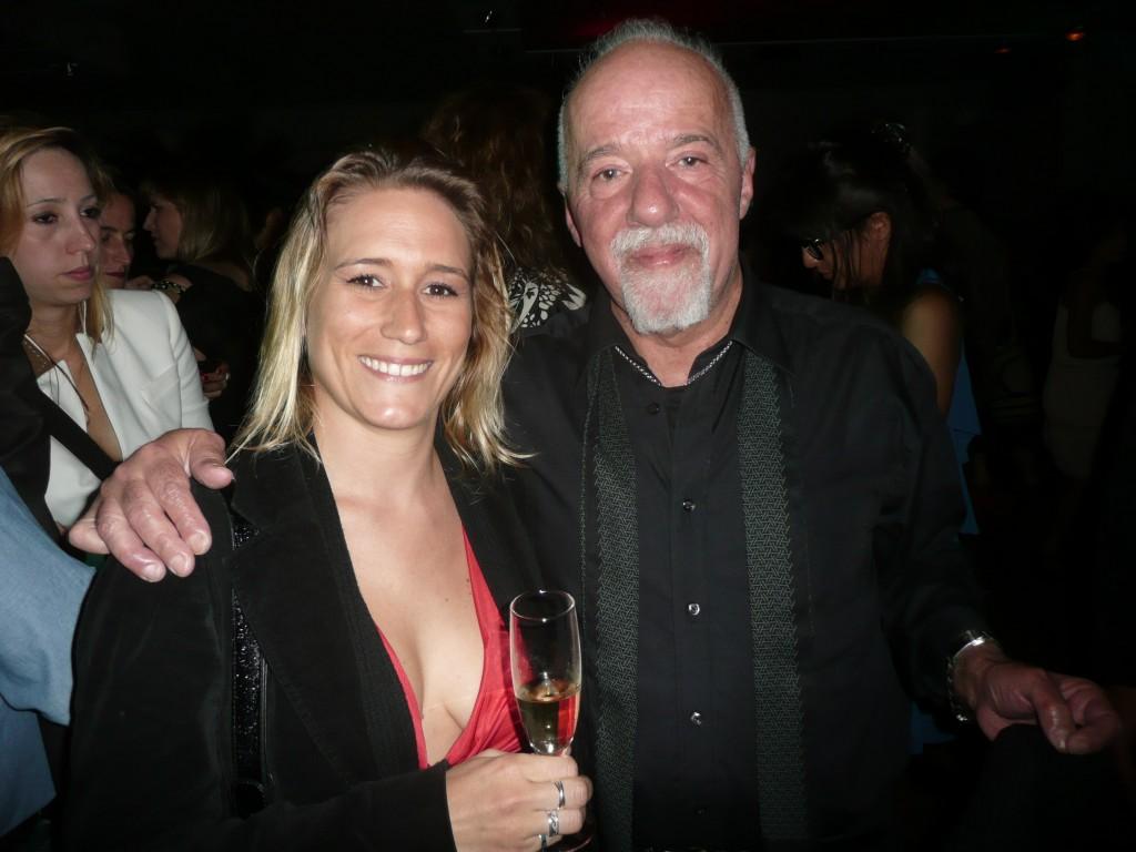 Avec Paulo Coelho, fête du Brésil