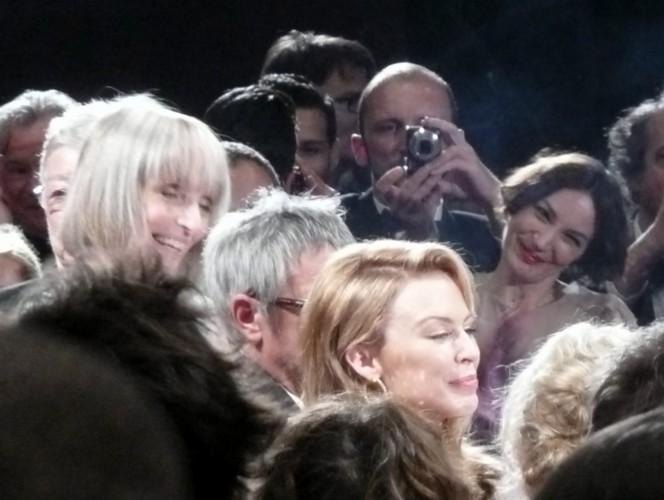 Kylie Minogue à la projection de Holy Motors