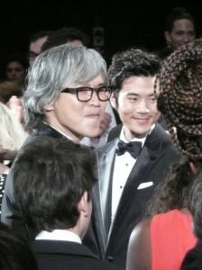 l'équipe du film d'Im Sang Soo
