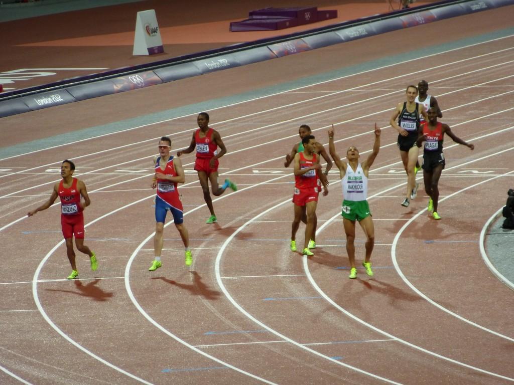 finale du 1500 mètres
