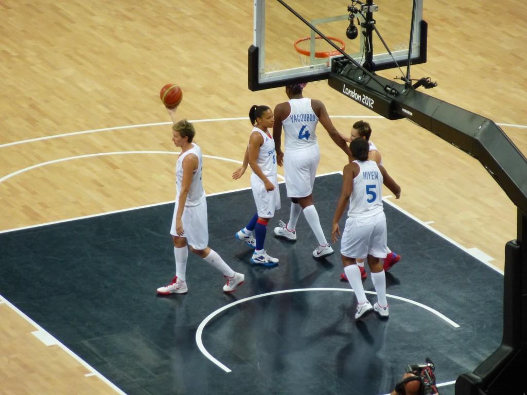 les basketteuses françaises