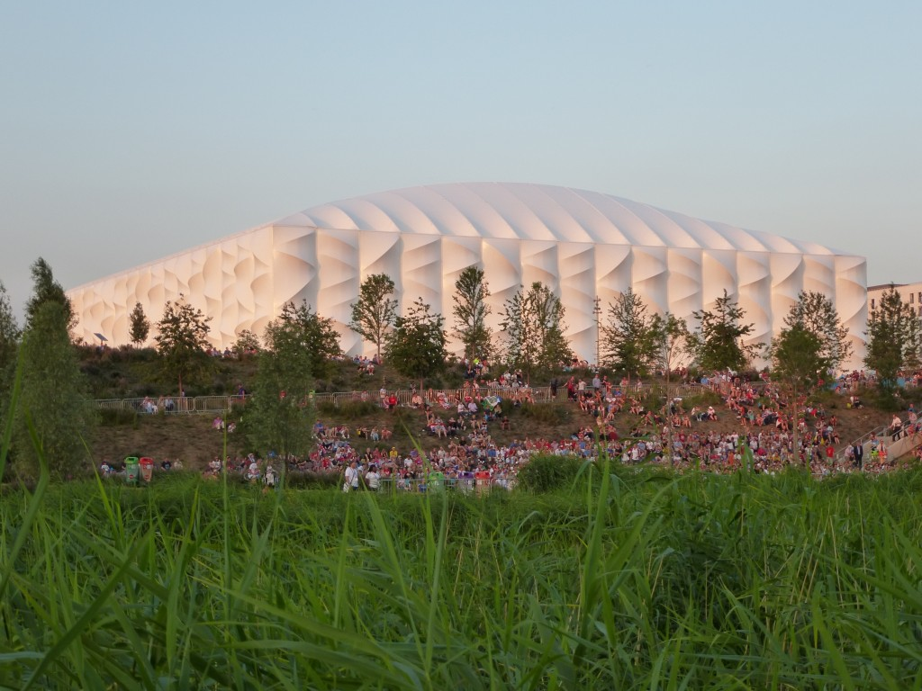 Basketball Arena, parc olympique