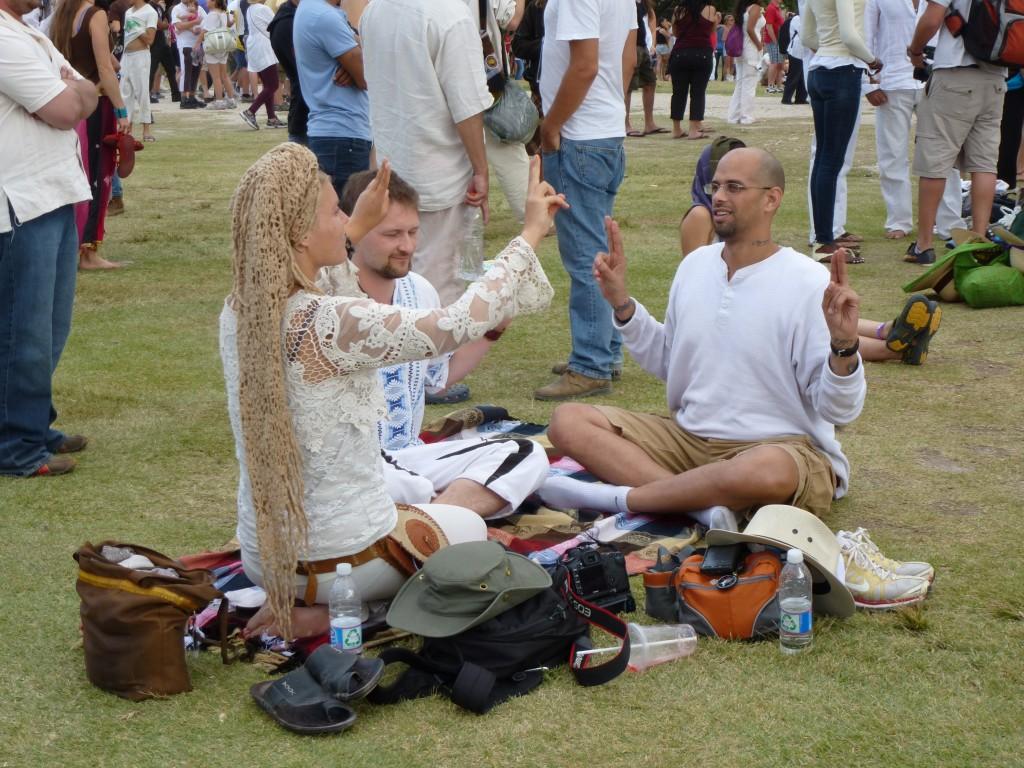 méditation à Chichen Itza