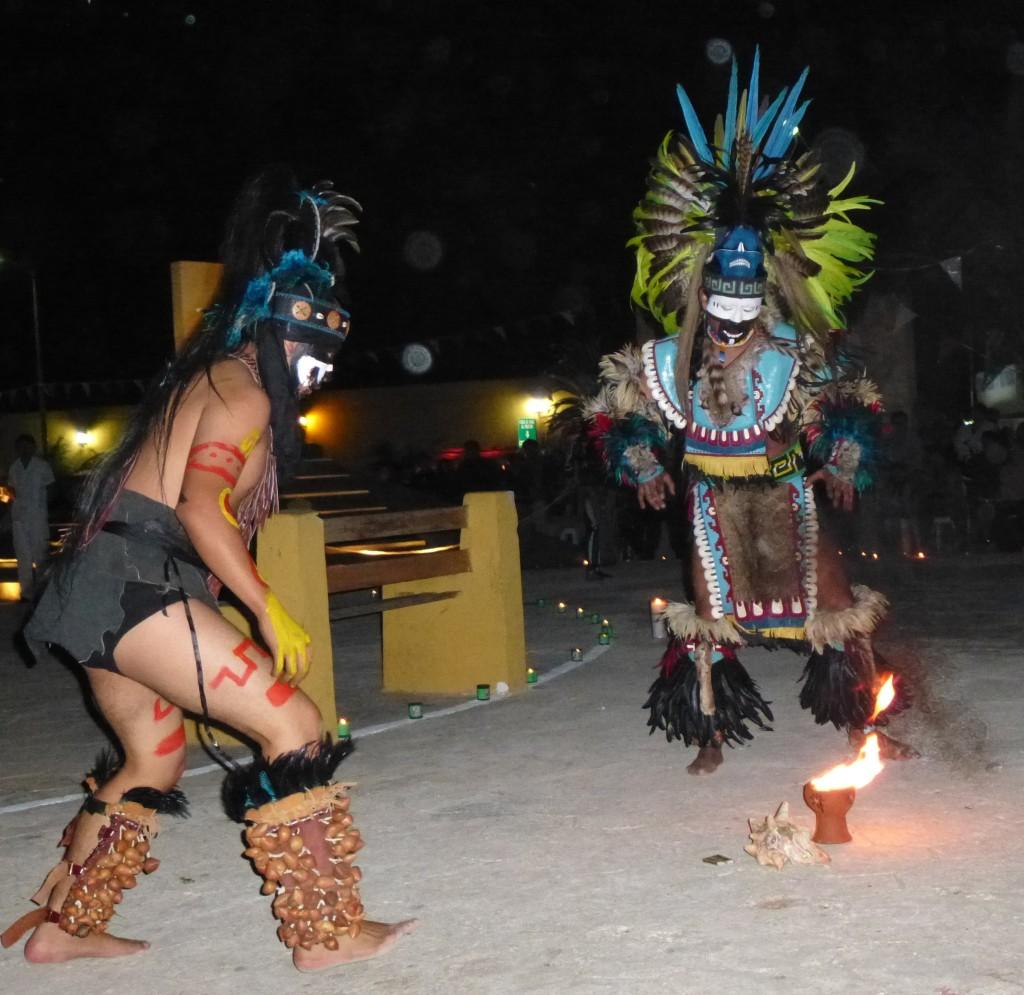 danse maya à Pitse