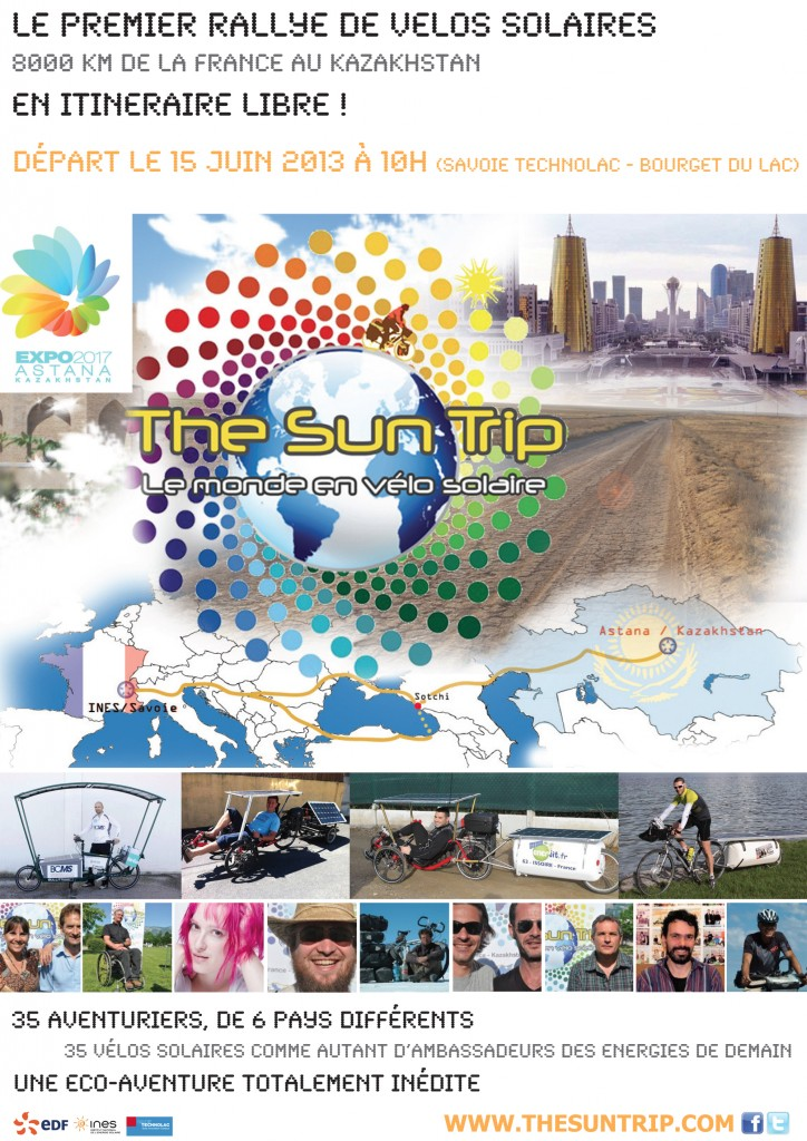 Affiche The Sun Trip depart
