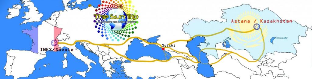Carte du Sun Trip