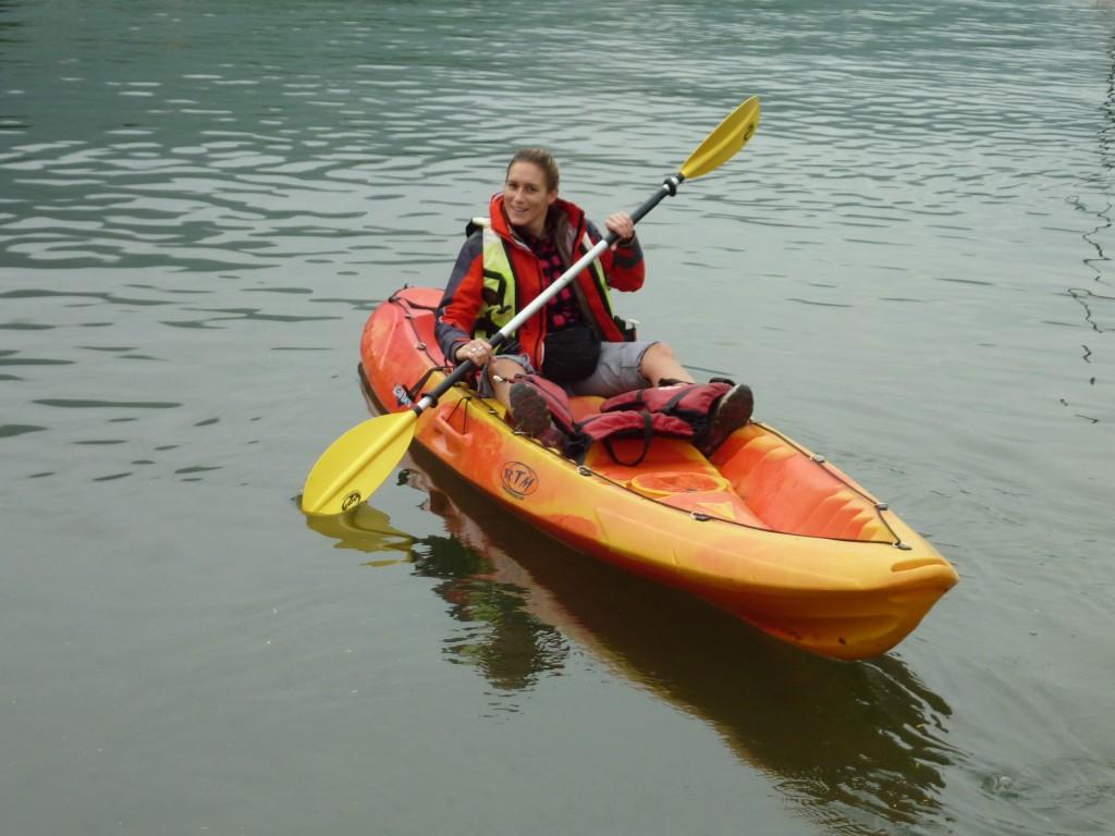 sur mon canoe