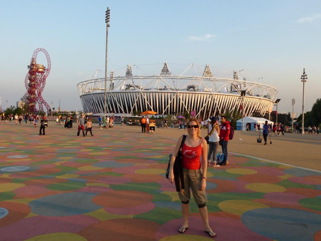 Au parc olympique