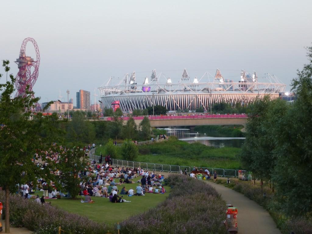 le parc olympique devenu Queen Elizabeth Park