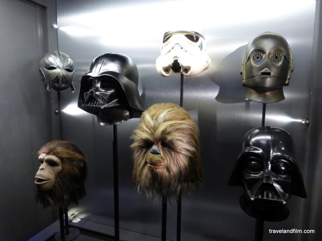 masques de Star Wars, La planète des singes et John Carter