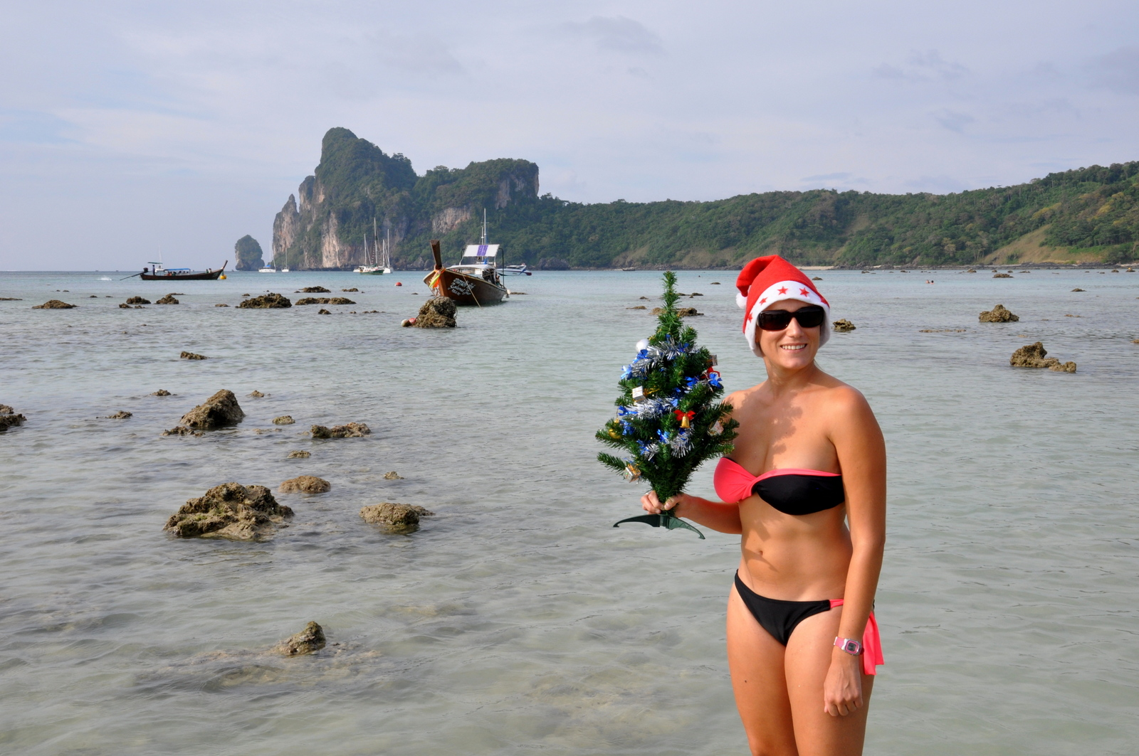 Koh Phi Phi la Plage Film Noel-plage-koh-phi-phi
