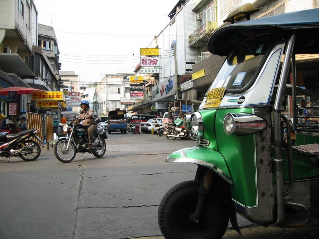 Bangkok-tuk-tuk