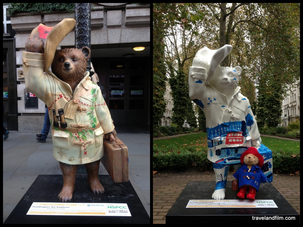 paddington-statues-londres