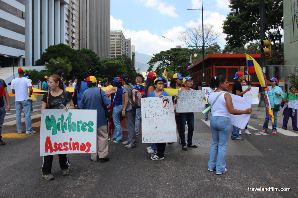 caracas-revendications-venezuela