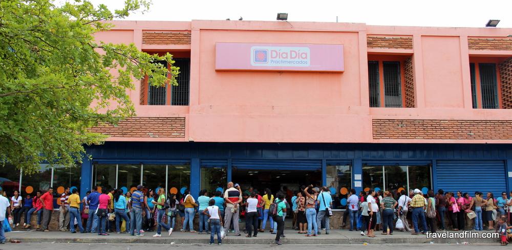 penurie-queue-supermarche-ciudad-bolivar-venezuela