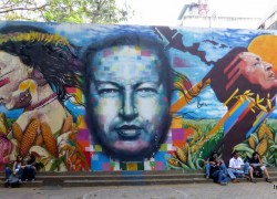 voyage-venezuela-fresque-hugo-chavez