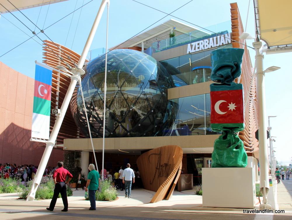 Azerbaijan pavilion expo milan 2105 lazerbaïdjan présente un pavillon