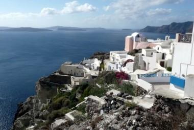 village d'Oia, au nord de l'île, Santorini, Grèce2