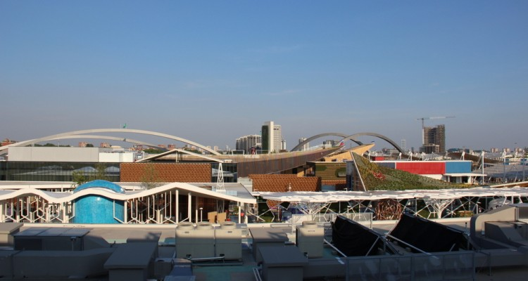 view of the expo-milan-from-united-states-pavilion