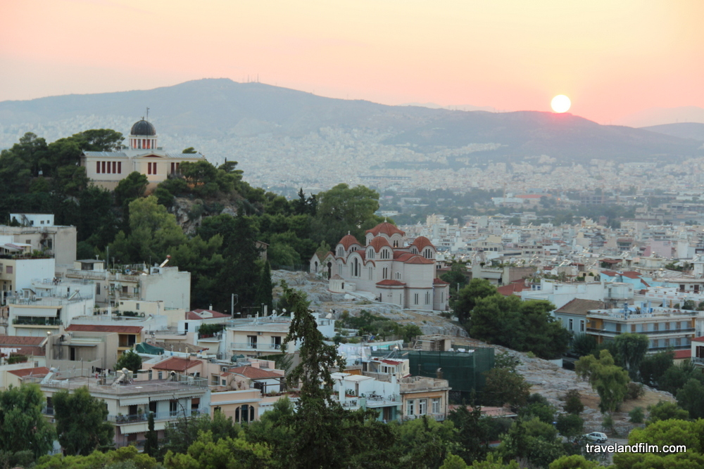 sunset-in-athens