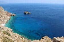 Sur les lieux de tournage du film Le Grand Bleu en Grèce: Amorgos et Ios