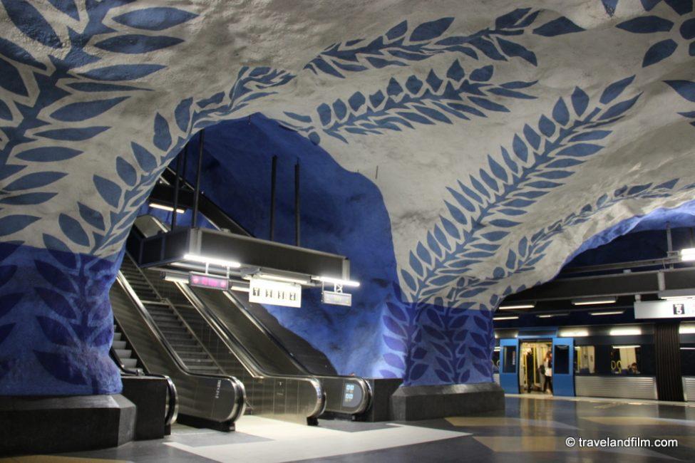 T-Centralen-metro-station-stockholm