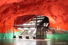 Art dans le métro de Stockholm, les plus belles stations