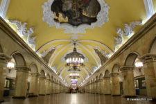 Visiter le métro de Moscou, les 10 plus belles stations