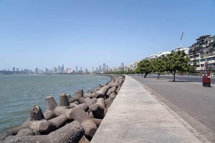 mumbai-deserte-lockdown-coronavirus