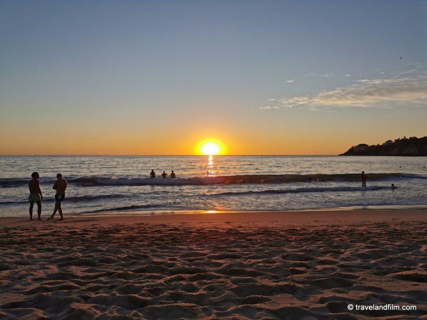 playa-zicatela-coucher-soleil