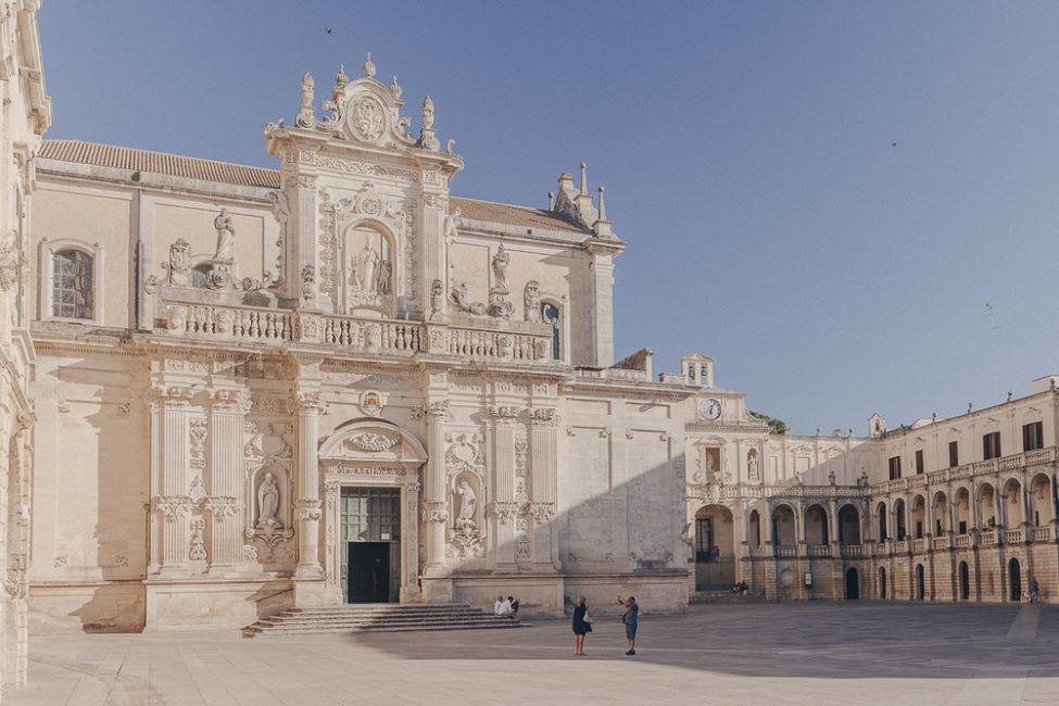 Duomo Lecce - Les pouilles