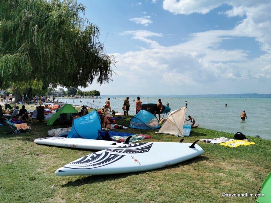 plage-lac-balaton